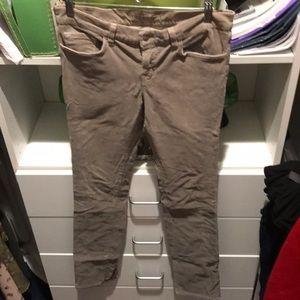 J Brand Gray corduroy Size 28